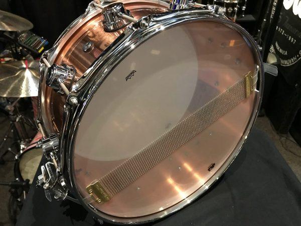 DW collectors copper snare b stock bottom