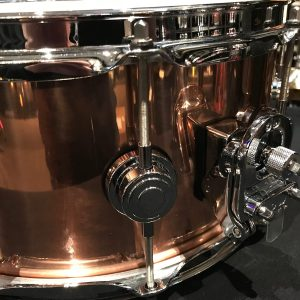 DW collectors copper snare b stock stainer throw