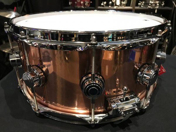 DW collectors copper snare b stock stainer tuner
