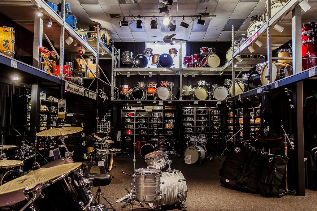 Dales Drum Shop Downstairs
