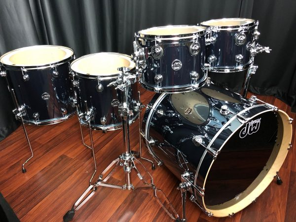 DW Performance Maple Chrome Shadow Right