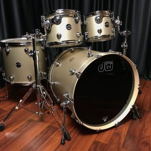 DW Performance Maple Gold Mist Right
