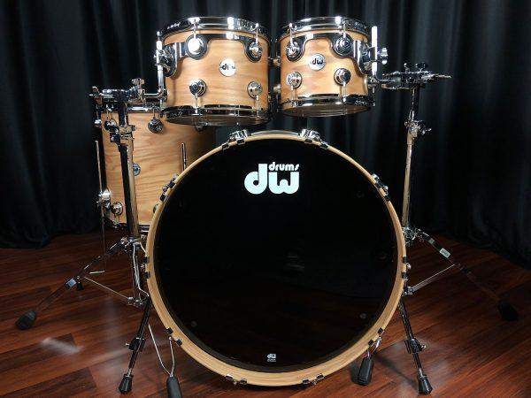 Drum Workshop Pure Oak 4pc Hard Satin