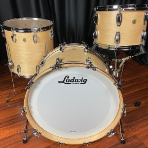 Ludwig Classic Maple Natural Satin 3pc Drum Set