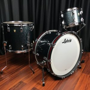 Ludwig Classic Maple Stingray II Black Sparkle
