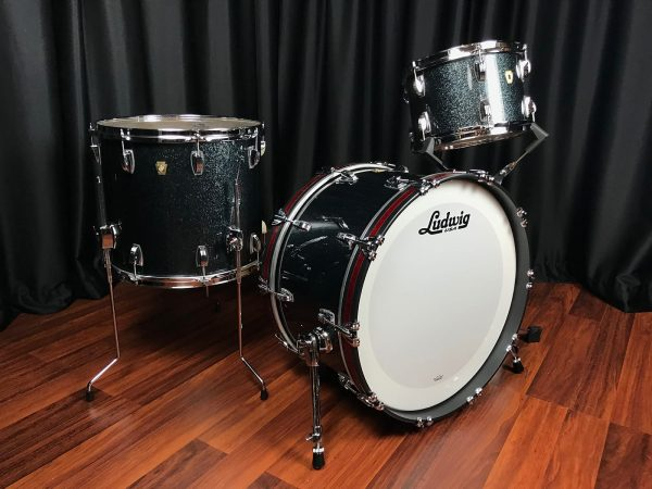 Ludwig Classic Maple Stingray II Black Sparkle