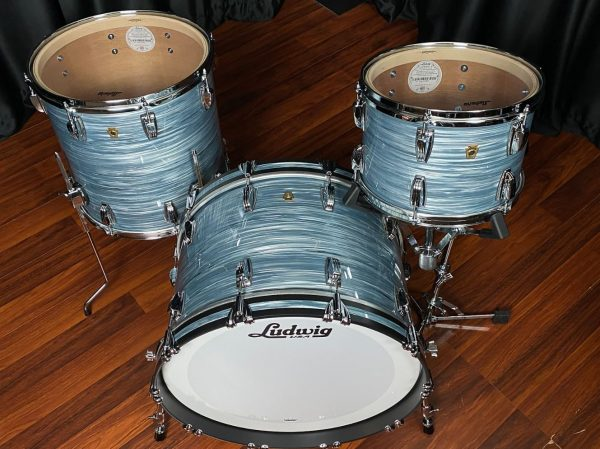 Ludwig legacy classic blue oyster top