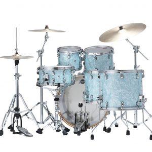 TAMA StarClassic Birch Walnut Ice Blue Pearl Back