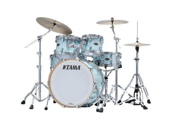 TAMA StarClassic Birch Walnut Ice Blue Pearl Left
