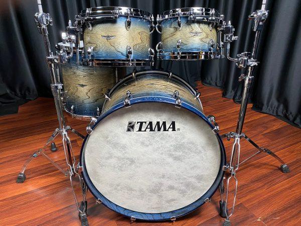 Tama-Star-Walnut-4pc-Indigo-Japanese-Sen-Burst