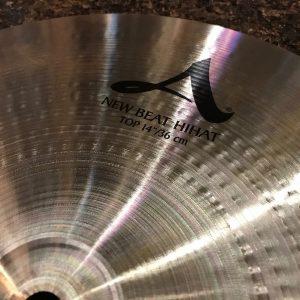 Zildjian A New Beat Hi Hats 14 Logo