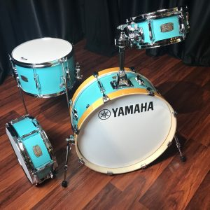 Yamaha stage custom hip compact birch matte surf green 4pc