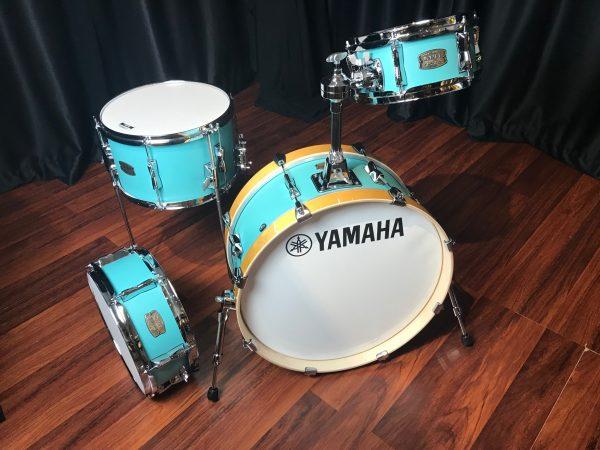 Yamaha stage custom hip compact birch matte surf green 4pc