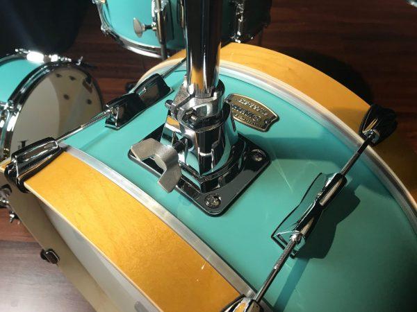 Yamaha stage custom hip compact birch matte surf green 4pc bass
