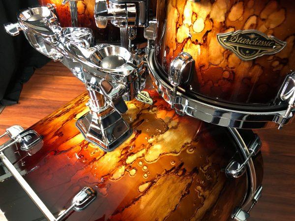 Tama WBS42SMBR starclassic walnut birch molten brown burst 4pc bass