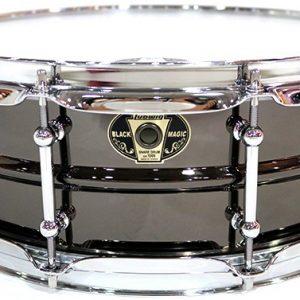 Ludwig LW5514C Black Magic 5.5x14 in. Brass Snare Drum Black Nickel-Plated