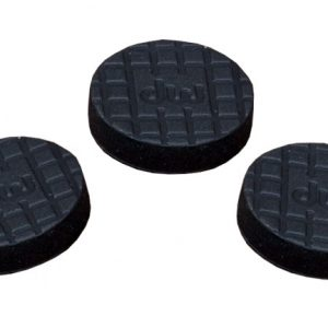 Drum Workshop Model: DWSP2225 3-Pack Rubber Pads for Tri-Pivot