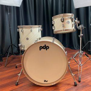 PDP Maple Twisted Ivory Walnut Hoops
