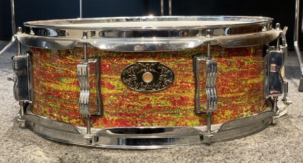 Ludwig Bun E. Carlos 5x14 Citrus Mod Sparkle Snare Drum