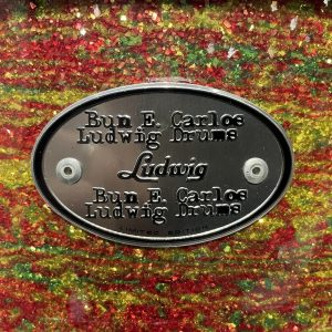 Ludwig Bun E. Carlos 5x14 Snare Drum Citrus Mod Sparkle