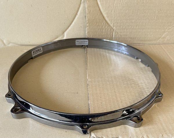 TAMA Star-Cast Mounting System 12 in. Top Drum Hoop Black Nickel