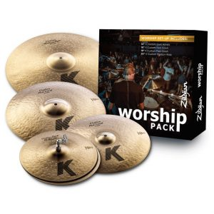 K Custom Worship Cymbal Pack KC0801W