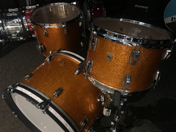 Ludwig Stingray Gold Sparkle with WMP Accent
