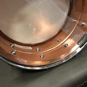 ludwig acro brushed copper 1