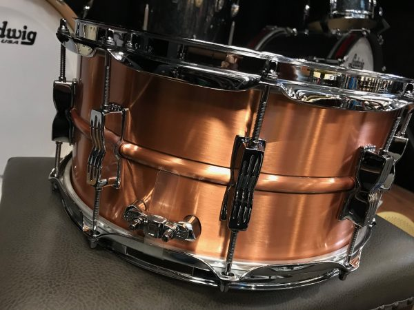 ludwig acro brushed copper 2