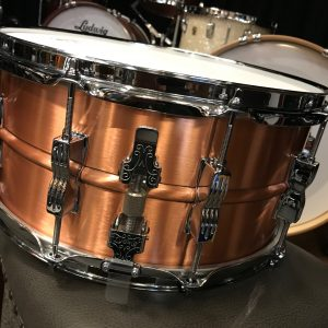 ludwig acro brushed copper 3