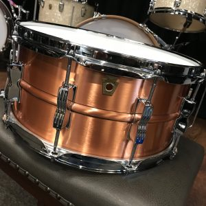 ludwig acro brushed copper