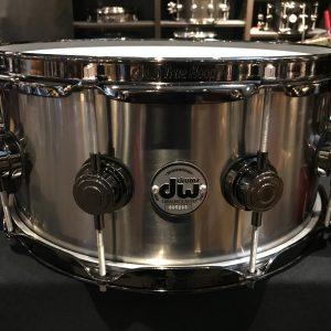 DW drums Collector's Titanium 6.5x14 Black Ti Drum Workshop snare drum