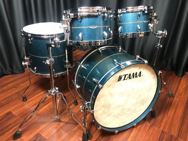 Tama Star Maple Satin Blue Metallic