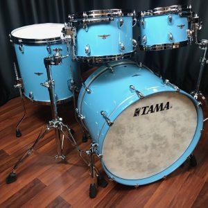 Tama Star Walnut 4pc Vintage Sea Blue
