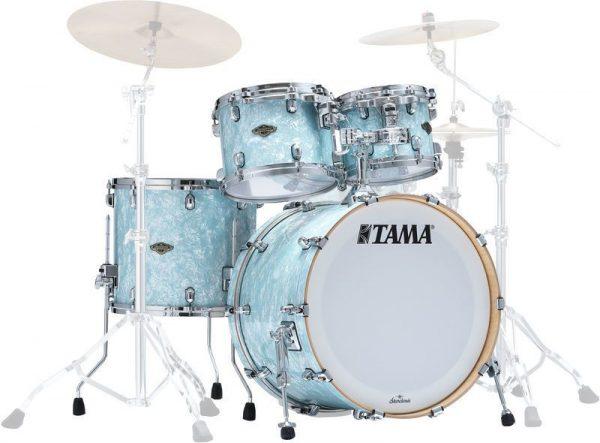 TAMA Drums Walnut Birch Ice Blue Pearl 4pc