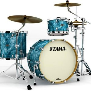 Tama Walnut Birch WBR32RZSTQP 3pc Turquoise Pearl