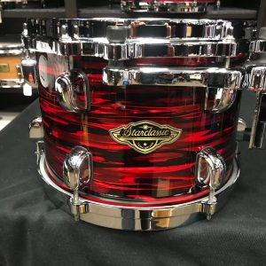 Tama Starclassic WB Red Oyster 10 in. Mounted Tom