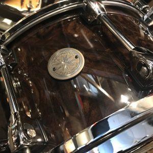 Tama drums Starphonic Walnut 7x14 snare drum PWB147GWB Black Walnut Burl
