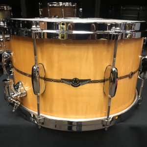 Tama Star Maple 8x14 Snare drum Gloss Natural Curly Maple TMS148RGCM