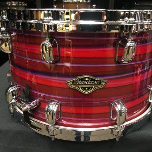 Tama Starclassic Walnut / Birch 8x14 Snare Drum Lacquer Phantasm Oyster WBSS148LPO