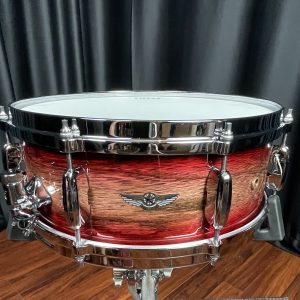 Tama TWS1455AGJB 5.5x14 Star Walnut Garnet Japanese Sen Burst Snare Drum
