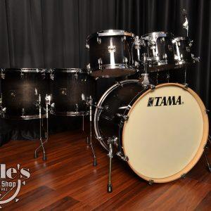 Tama Superstar Classic Maple Transparent Black Burst CL72STPB