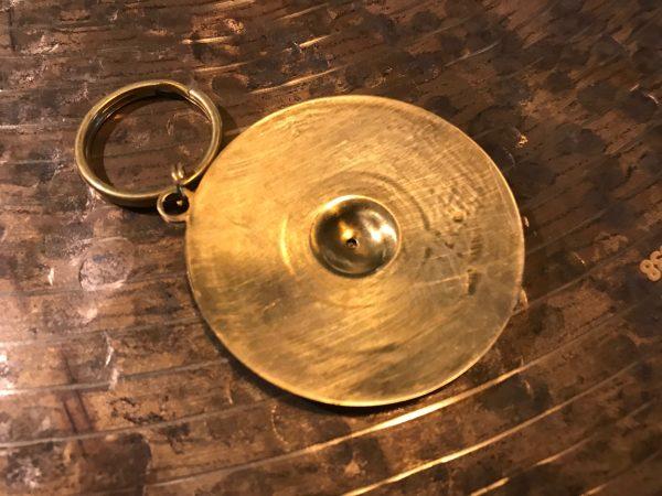 Zildjian Cymbals ZKEYCHAIN Cymbal Keychain Metal 2 in. Cool Drummer Gift