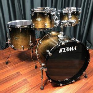 TAMA Drums Starclassic Walnut Birch Transparent Mocha Fade 4pc Kit WBS42S TMF
