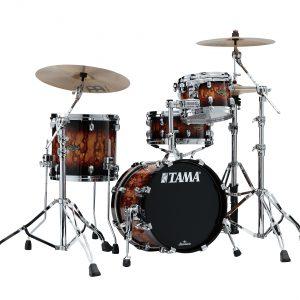 Tama Limited Edition Starclassic W/B Molten Brown Burst 3pc WBS36RSMBR Kit w/ 16in. Bass